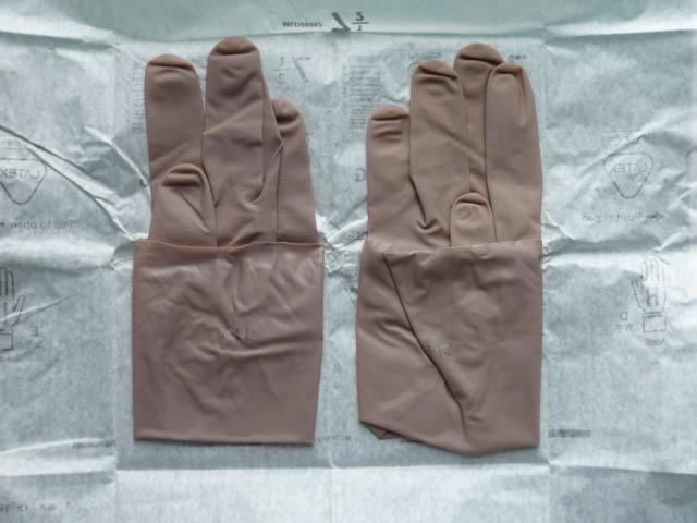 手術用ゴム手袋 GAMMEX マイクロ・シン パウダーフリーUG サイズ7.5 2双(2袋) [送料込み]_画像4