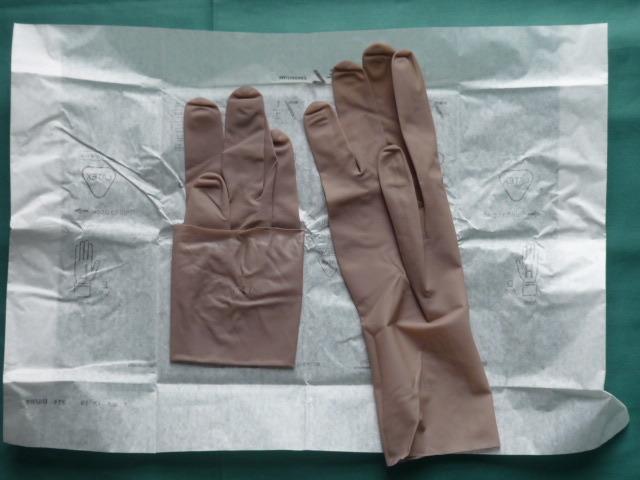 手術用ゴム手袋 GAMMEX マイクロ・シン パウダーフリーUG サイズ7.5 2双(2袋) [送料込み]_画像5