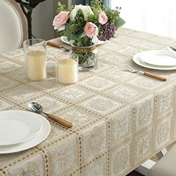 タイプ3 巾100×長さ138cm 1枚入り テーブルクロス ビニール テーブル 食卓カバー デスクマット おしゃれ レース柄 _画像2