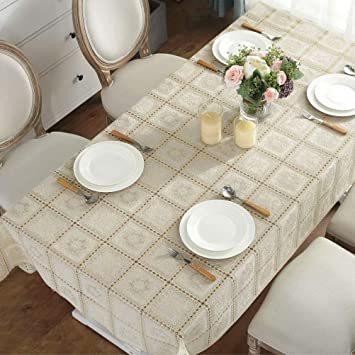 タイプ3 巾100×長さ138cm 1枚入り テーブルクロス ビニール テーブル 食卓カバー デスクマット おしゃれ レース柄 _画像4