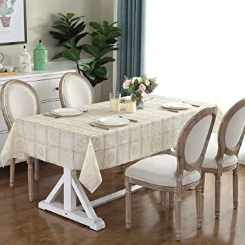 タイプ3 巾100×長さ138cm 1枚入り テーブルクロス ビニール テーブル 食卓カバー デスクマット おしゃれ レース柄 _画像5