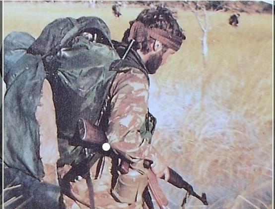 珍品 南アフリカ軍 特殊部隊 32大隊迷彩シャツ ローデシア SAS RLI セルーススカウト PMC エグゼクティブアウトカムズ イラク アフガン_画像4