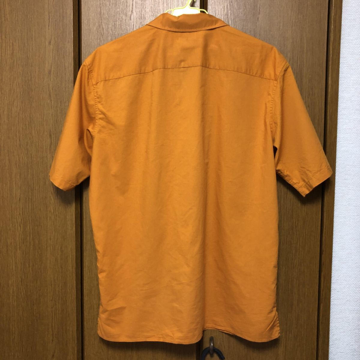 半袖シャツ オープンカラーシャツ UNIQLO メンズ 開襟