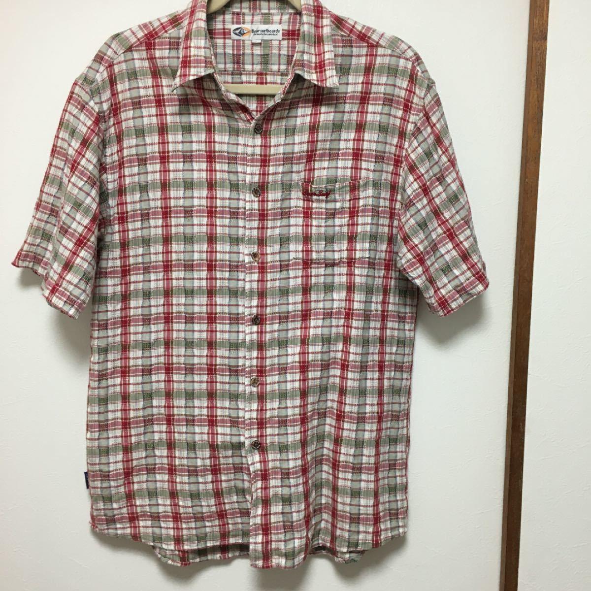 半袖シャツ メンズ チェックシャツ