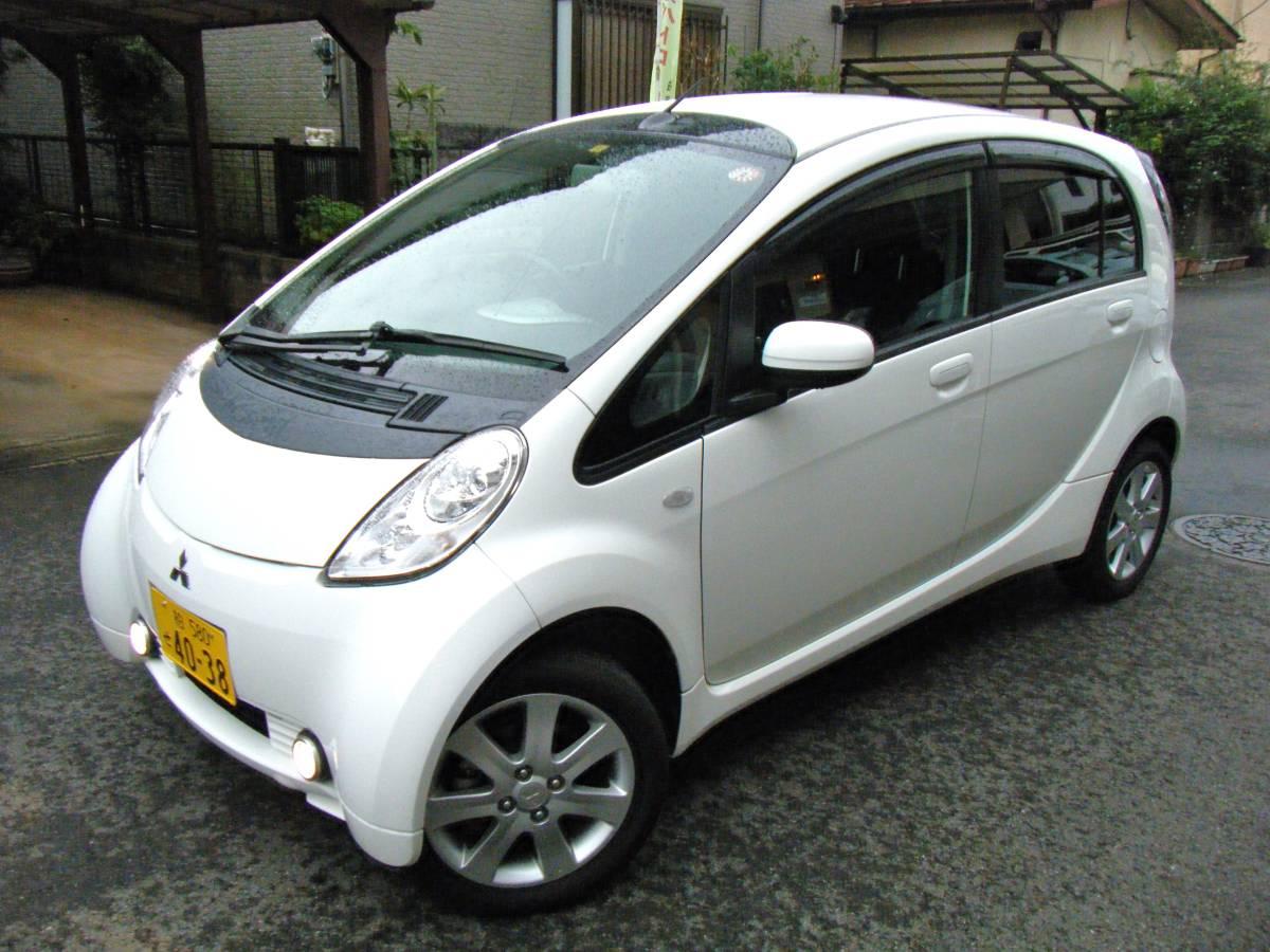 売切◆車検取立て令和4年7月まで◆走行37200㌔ 21年式アイミーブ◆家庭用100V&200V充電