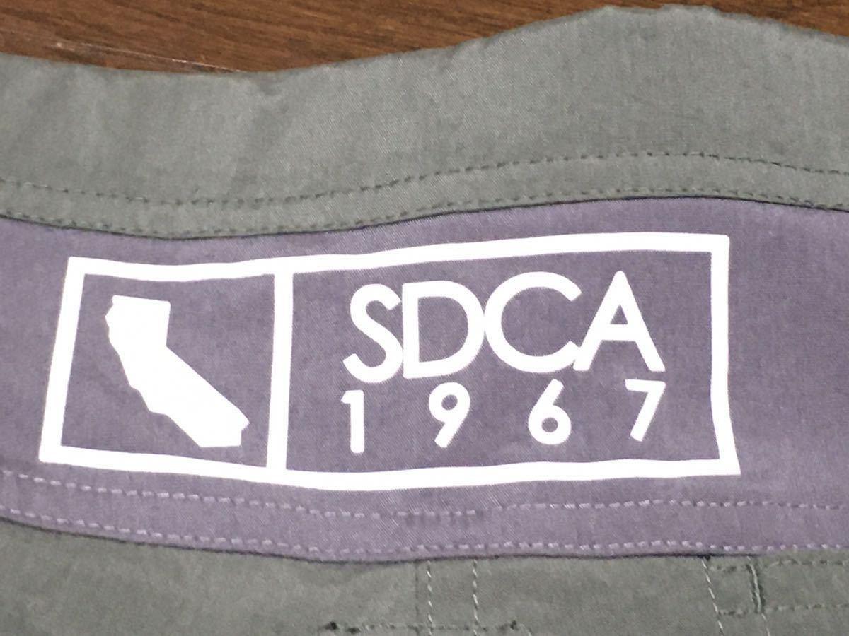 STANDARD CALIFORNIA スタンダードカリフォルニア ハーフパンツ ショートパンツ W32 Coolmax オリーブ_画像7