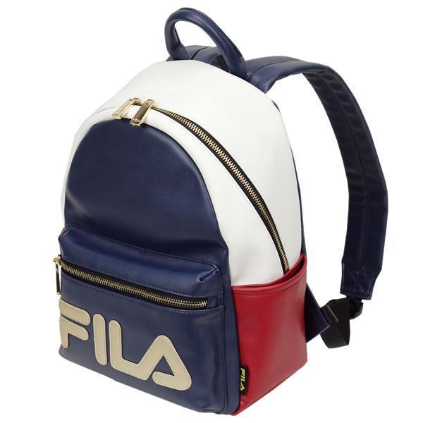 新品送料無料 FILA(フィラ) クリスタル リュック マルチカラー 8L (女性 通学 学生用 運動用 お洒落 可愛い)