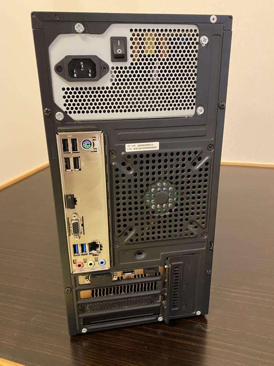 【送料無料】Core i7 7700 Windows10 SSD256G HDD メモリ16g 中古デスクトップPC 付属品有り_画像2