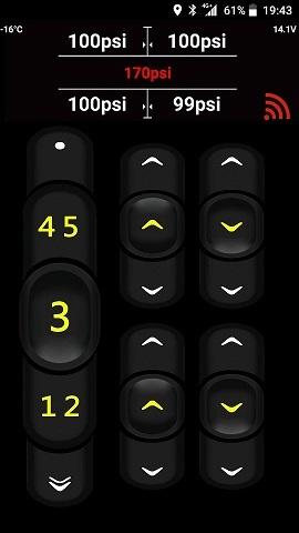 ECU プレッシャーセンサーコントロールシステム エアサス デジタルエアーゲージ エアサススイッチ メモリー機能_画像2