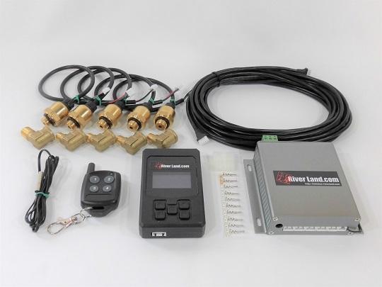 ECU プレッシャーセンサーコントロールシステム エアサス デジタルエアーゲージ エアサススイッチ メモリー機能_画像1