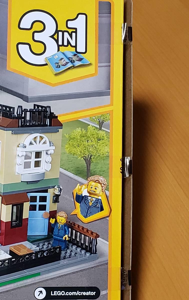 LEGO CREATOR 31065 タウンハウス 未開封品 レゴ 3IN1 _少しテープがズレて緩く開いています