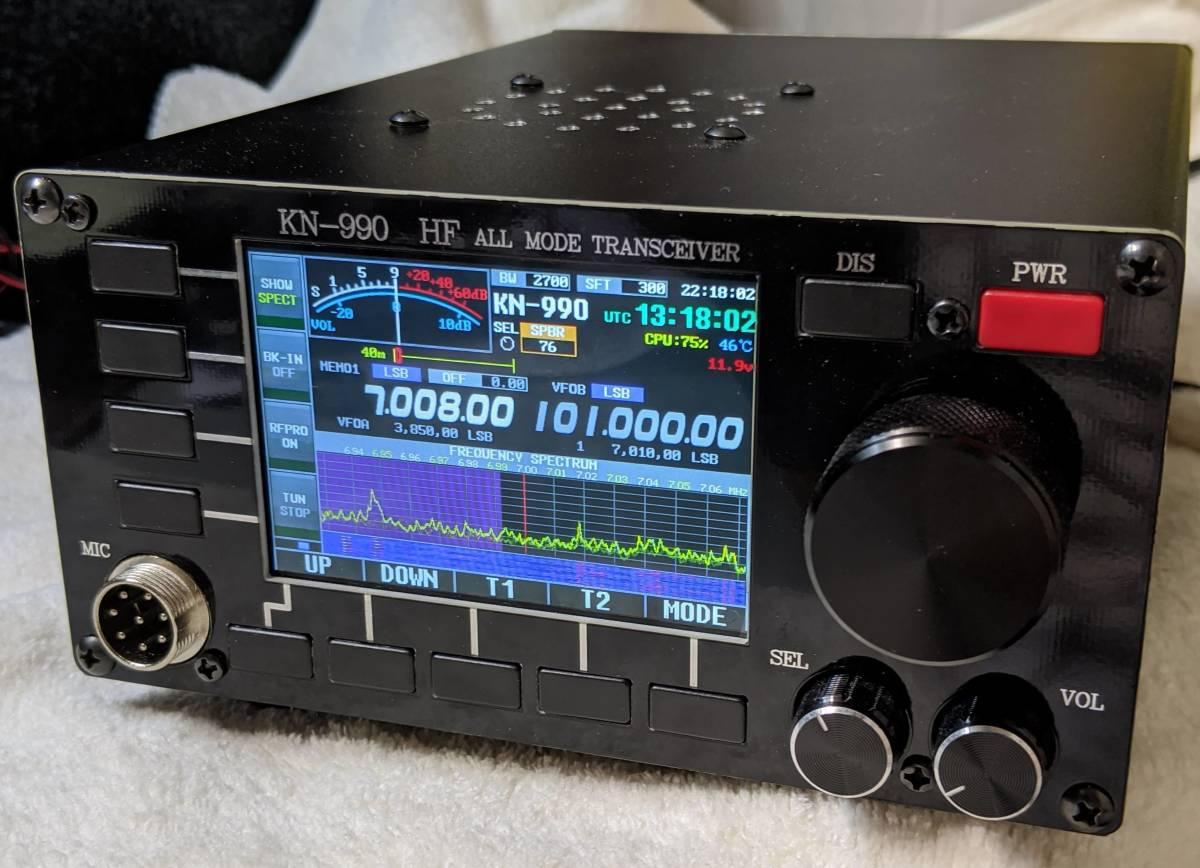 ○KN-990 HF ALL MODE TRANSCEIVER 美品