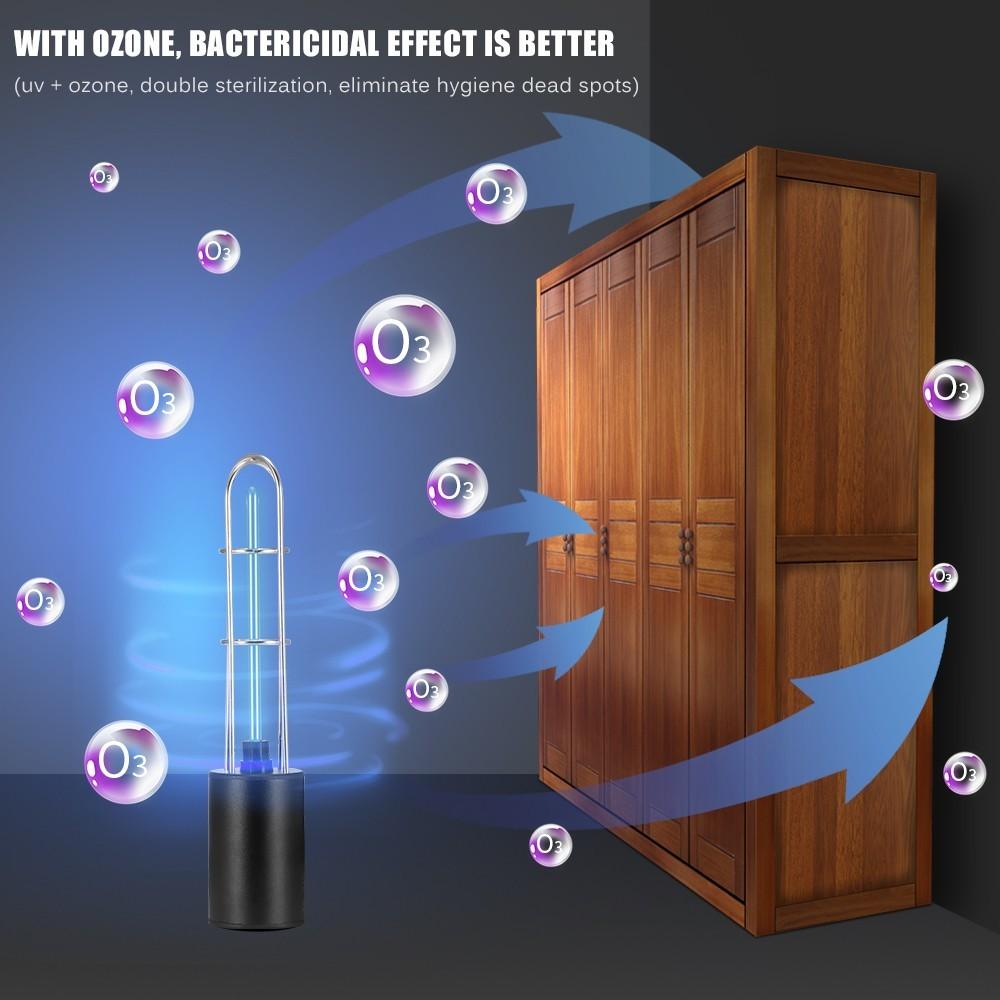 最安値保障します♪充電式 紫外線 uv 殺菌ライトチューブ 電球 消毒 殺菌 ランプ オゾン殺菌 ダニライトプレサージュ_画像7
