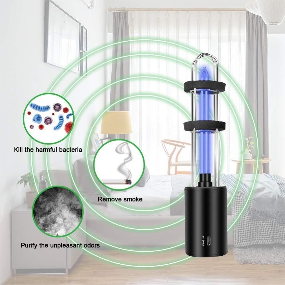 最安値保障します♪充電式 紫外線 uv 殺菌ライトチューブ 電球 消毒 殺菌 ランプ オゾン殺菌 ダニライトプレサージュ_画像1