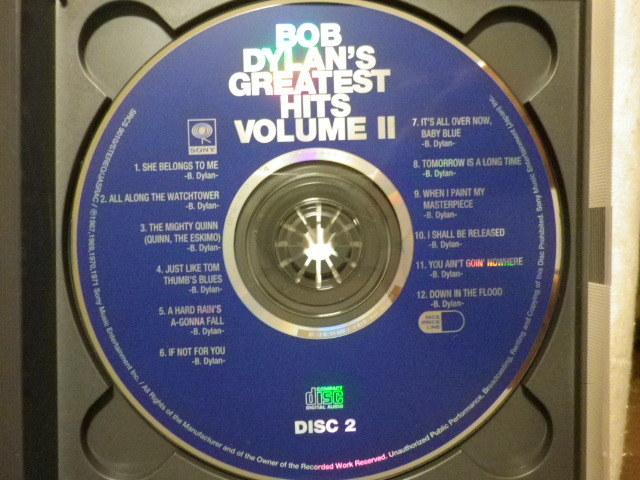 『Bob Dylan/Bob Dylan's Greatest Hits Vol.Ⅱ(1971)』(1995年発売,SRCS-9009/10,廃盤,国内盤帯付,歌詞対訳付,2CD,Lay Lady Lay)_画像4