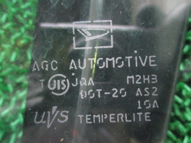 H21 ダイハツ タント カスタムX リミテッド DBA-L375S 『 フロント 右 ピラーガラスクォーターガラス』TT13_画像8