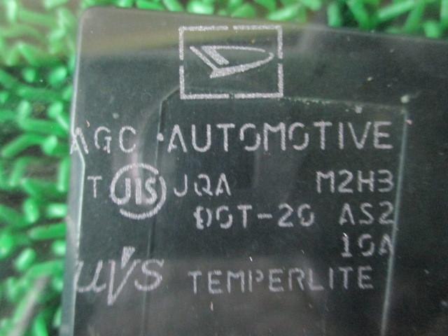 H21 ダイハツ タント カスタムX リミテッド DBA-L375S 『 フロント 左 ピラーガラスクォーターガラス』TT13_画像9