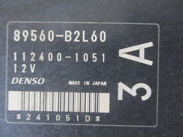 H21ダイハツ タント カスタムX リミテッド DBA-L375S 『エンジン コンピューター 89560-B2L60』TT13_画像2