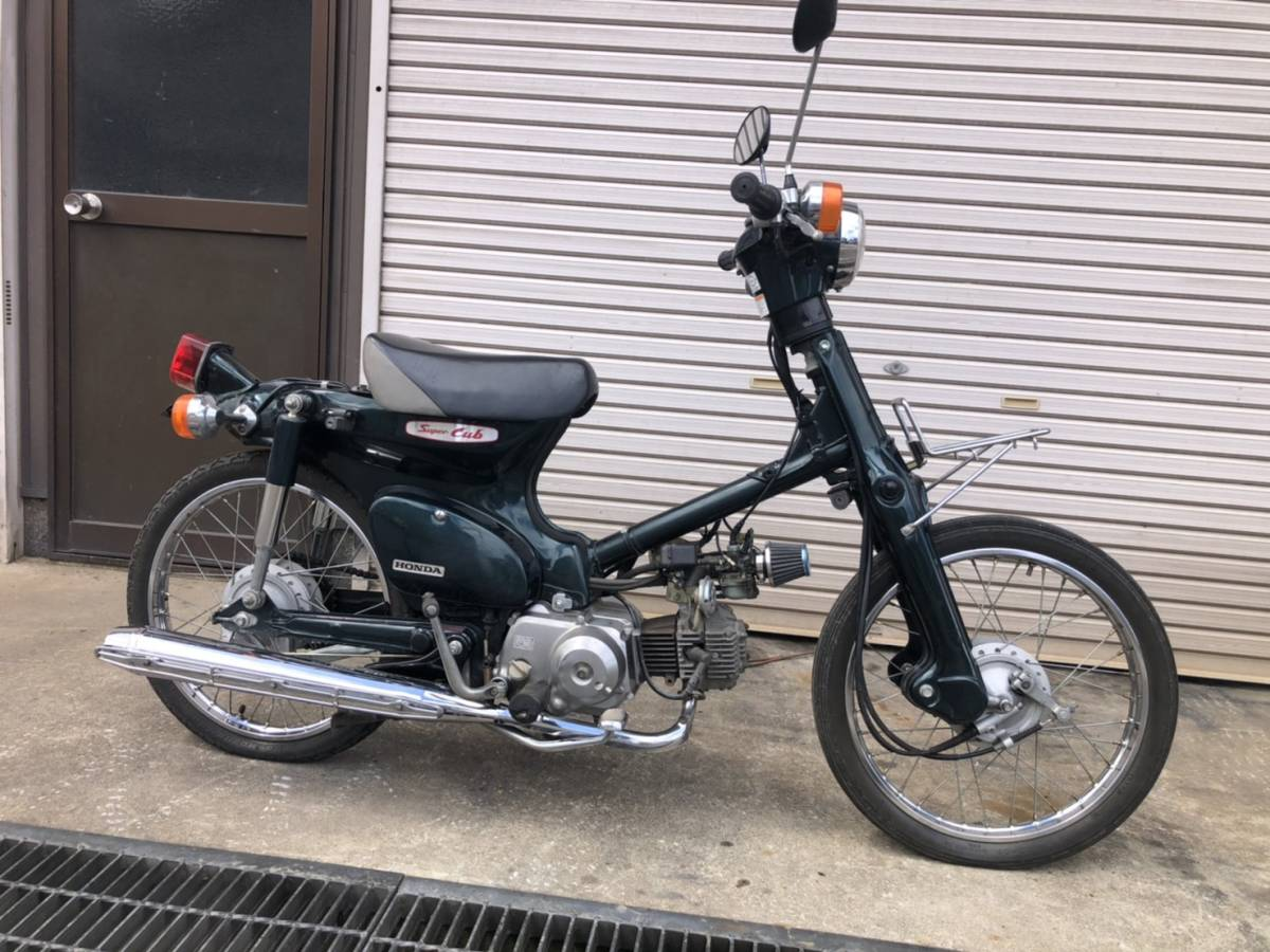 「☆スーパーカブ50 C50D2 フルカスタム AA01 実動車 ホンダ☆」の画像1