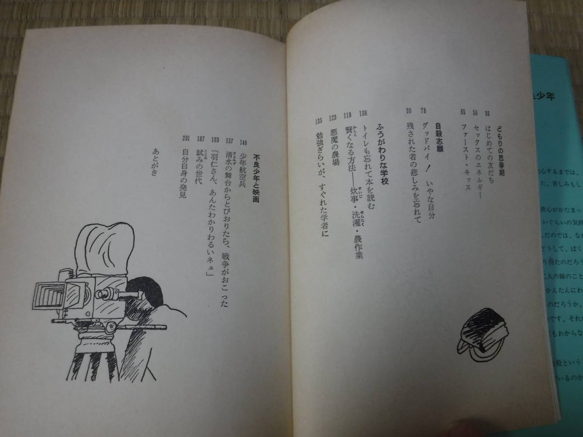 のびのび人生論10 初恋・自殺・不良少年 ぼくの思春期 羽仁進 ポプラ社_画像6
