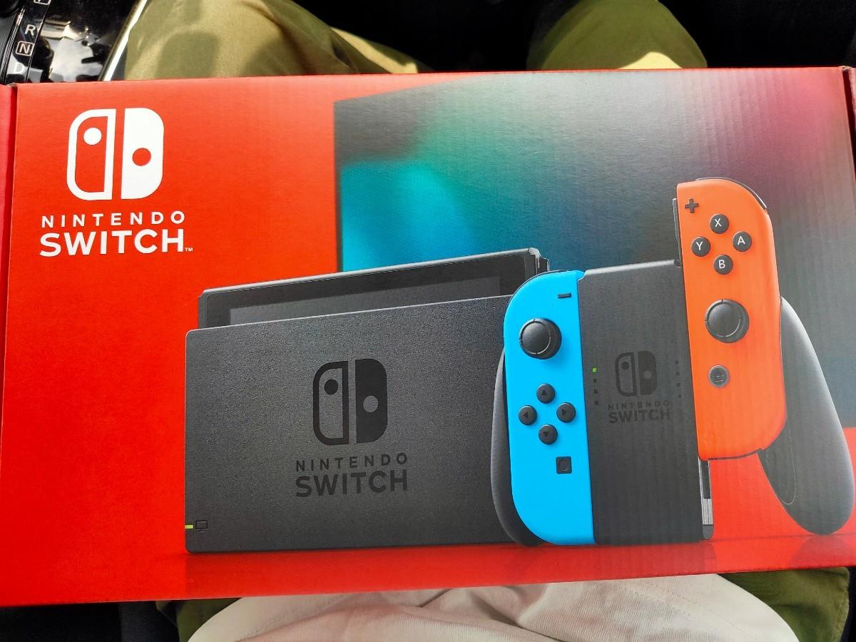 ネオンブルー Nintendo Switch ニンテンドースイッチ