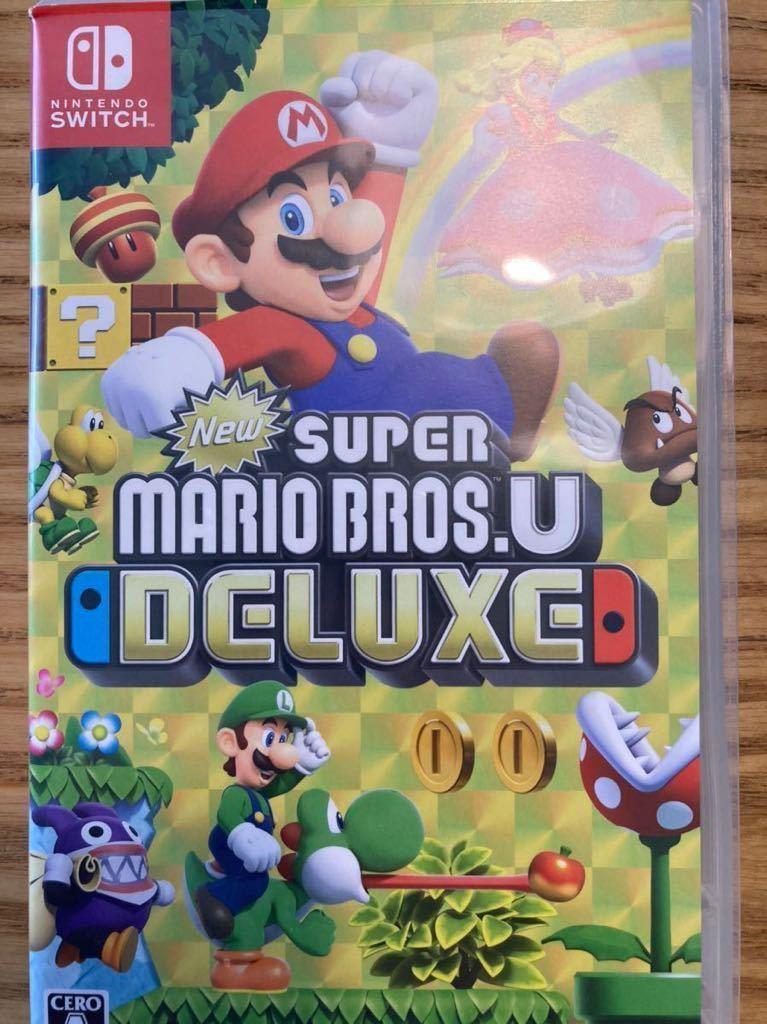 NewスーパーマリオブラザーズU デラックス スイッチソフト ニンテンドースイッチ Nintendo Switch