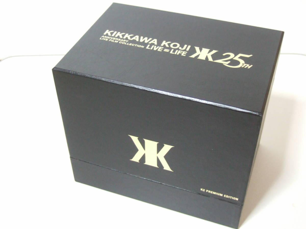 ★吉川晃司★ KIKKAWA KOJI ANNIVERSARY LIVE FILM COLLECTION LIVE=LIFE 25TH DVD 17枚組 K2 PREMIUM EDITION_画像1