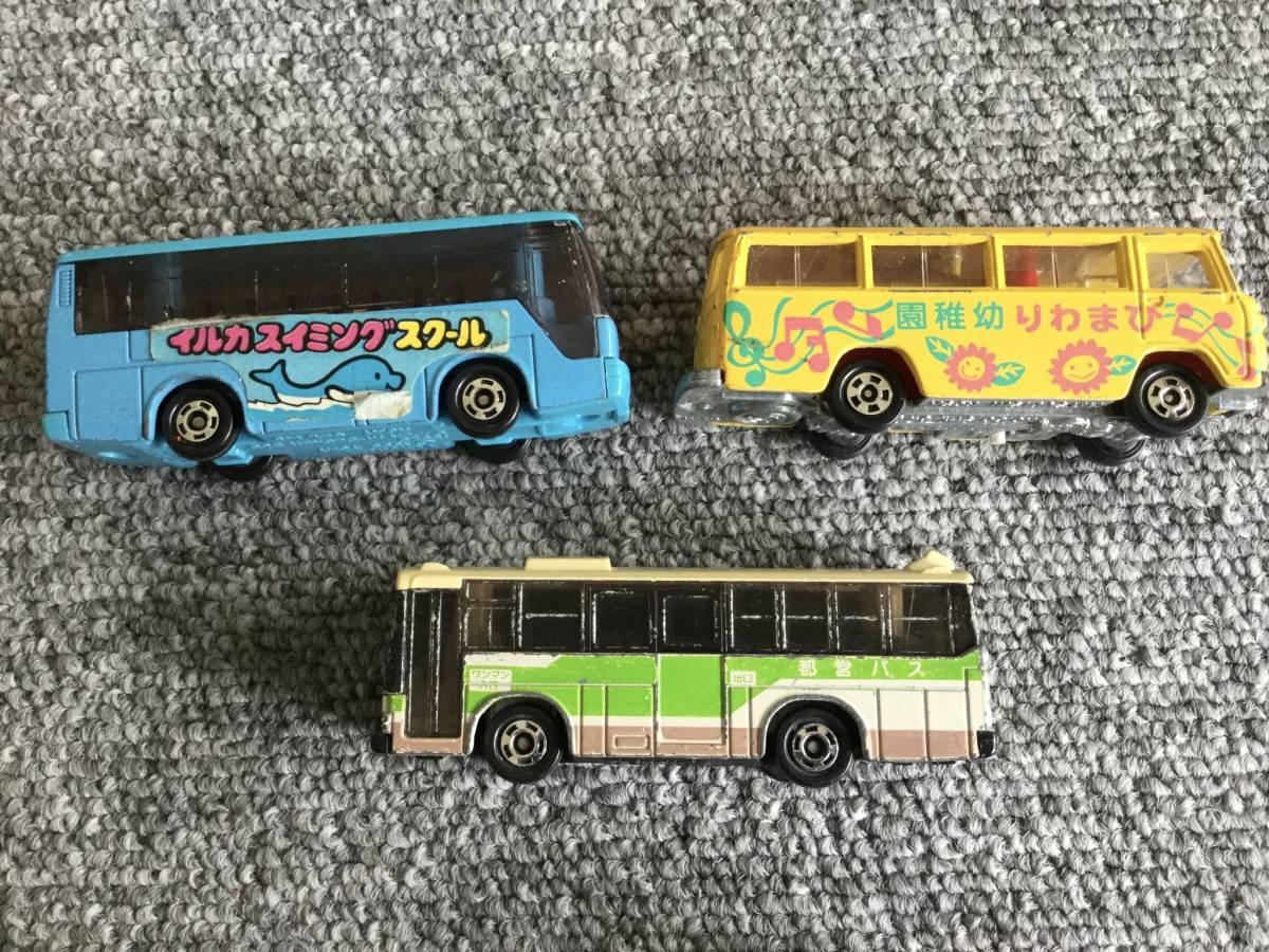 トミカ 日本製 ジャンク品 バス、タクシー、働く車色々 36台全て日本製 ④ 送料無料_画像10