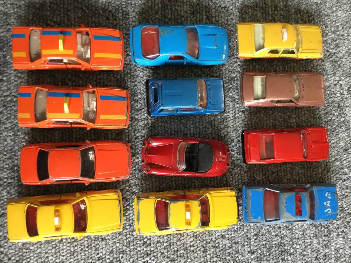トミカ 日本製 ジャンク品 バス、タクシー、働く車色々 36台全て日本製 ④ 送料無料_画像6