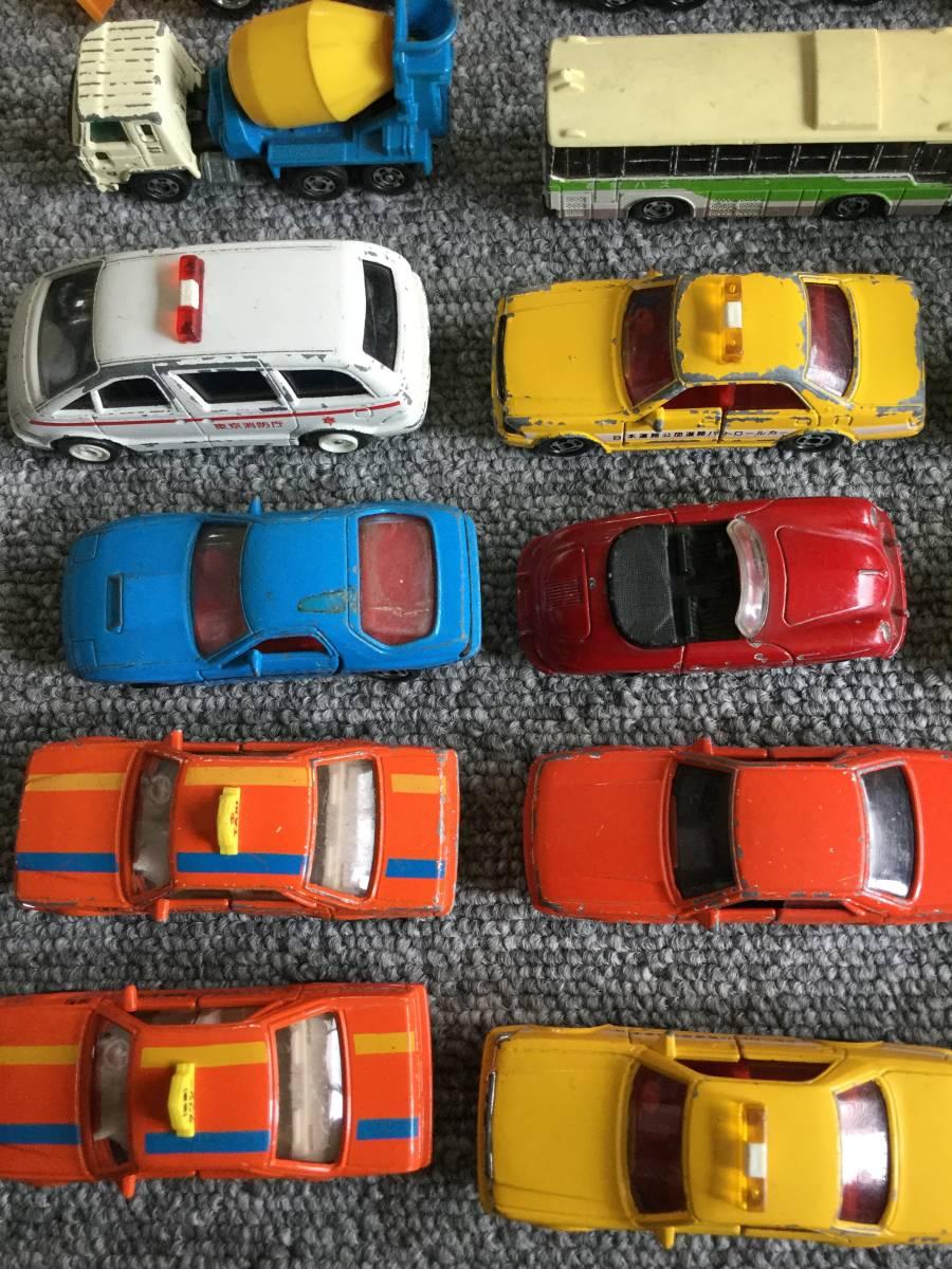 トミカ 日本製 ジャンク品 バス、タクシー、働く車色々 36台全て日本製 ④ 送料無料_エスティマB/Oトミカ走行不可