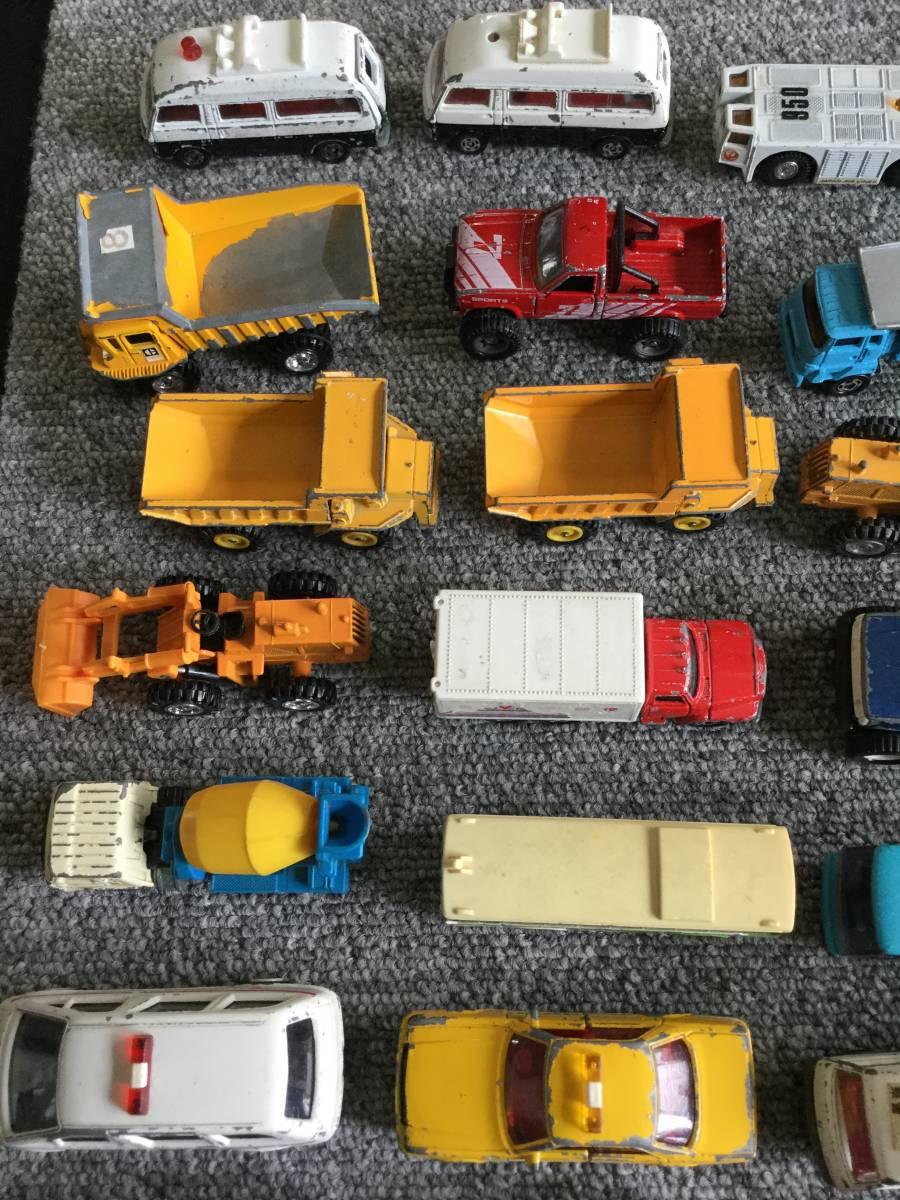 トミカ 日本製 ジャンク品 バス、タクシー、働く車色々 36台全て日本製 ④ 送料無料_画像4