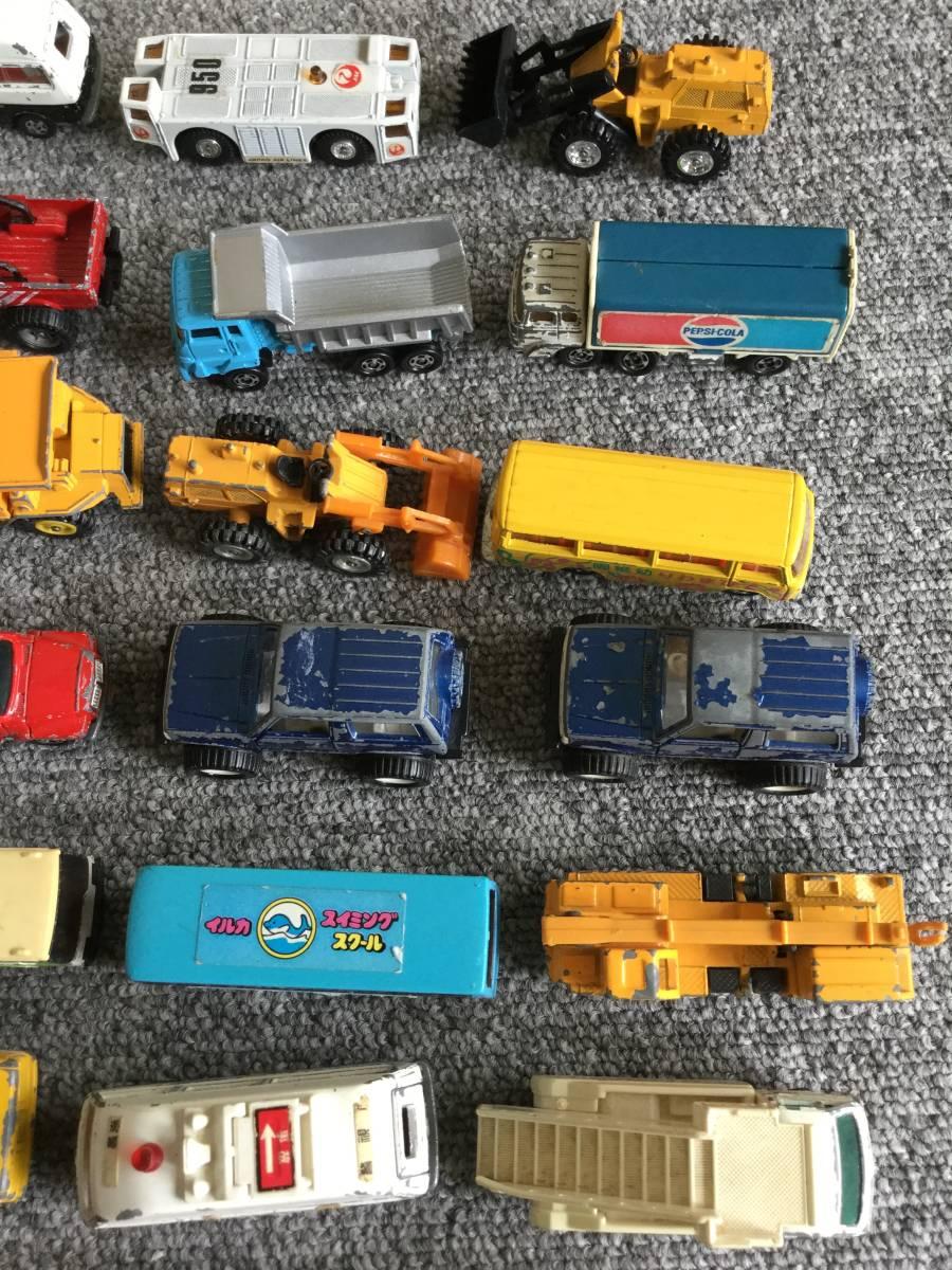 トミカ 日本製 ジャンク品 バス、タクシー、働く車色々 36台全て日本製 ④ 送料無料_画像5