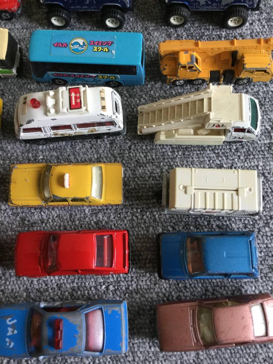 トミカ 日本製 ジャンク品 バス、タクシー、働く車色々 36台全て日本製 ④ 送料無料_画像3