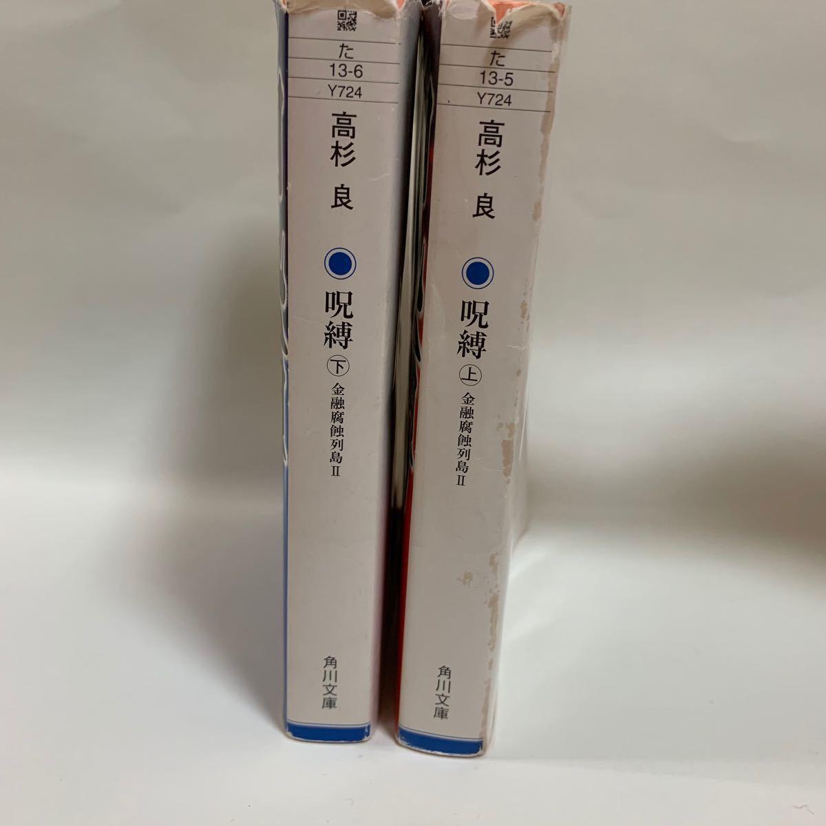 呪縛 金融腐蝕列島 2 上下 文庫本