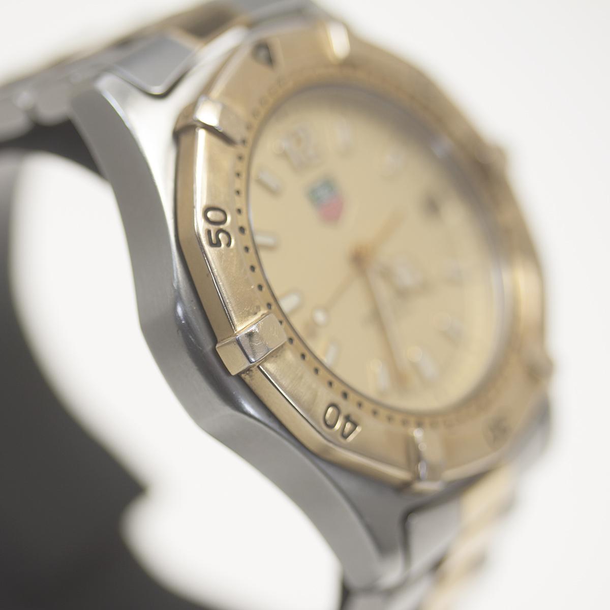 【TAG HEUER】タグホイヤー WK1121「プロフェッショナル 200m」クォーツ メンズ 腕時計【中古品】_画像3