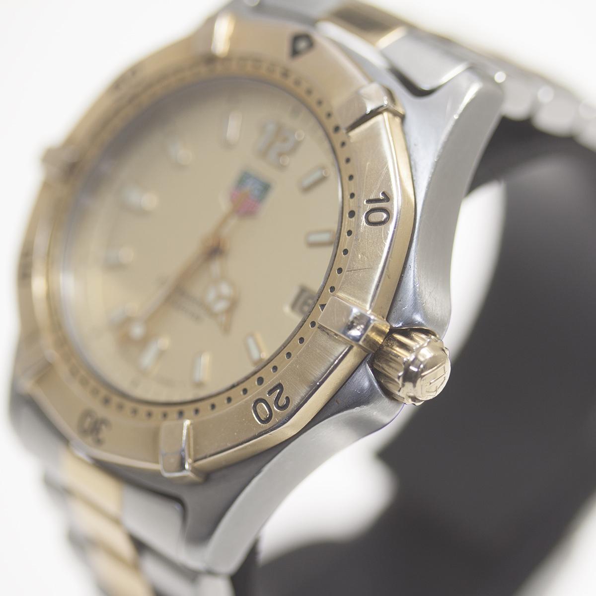【TAG HEUER】タグホイヤー WK1121「プロフェッショナル 200m」クォーツ メンズ 腕時計【中古品】_画像2