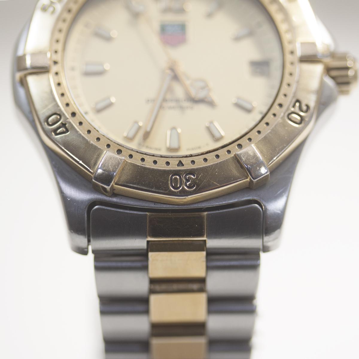 【TAG HEUER】タグホイヤー WK1121「プロフェッショナル 200m」クォーツ メンズ 腕時計【中古品】_画像4