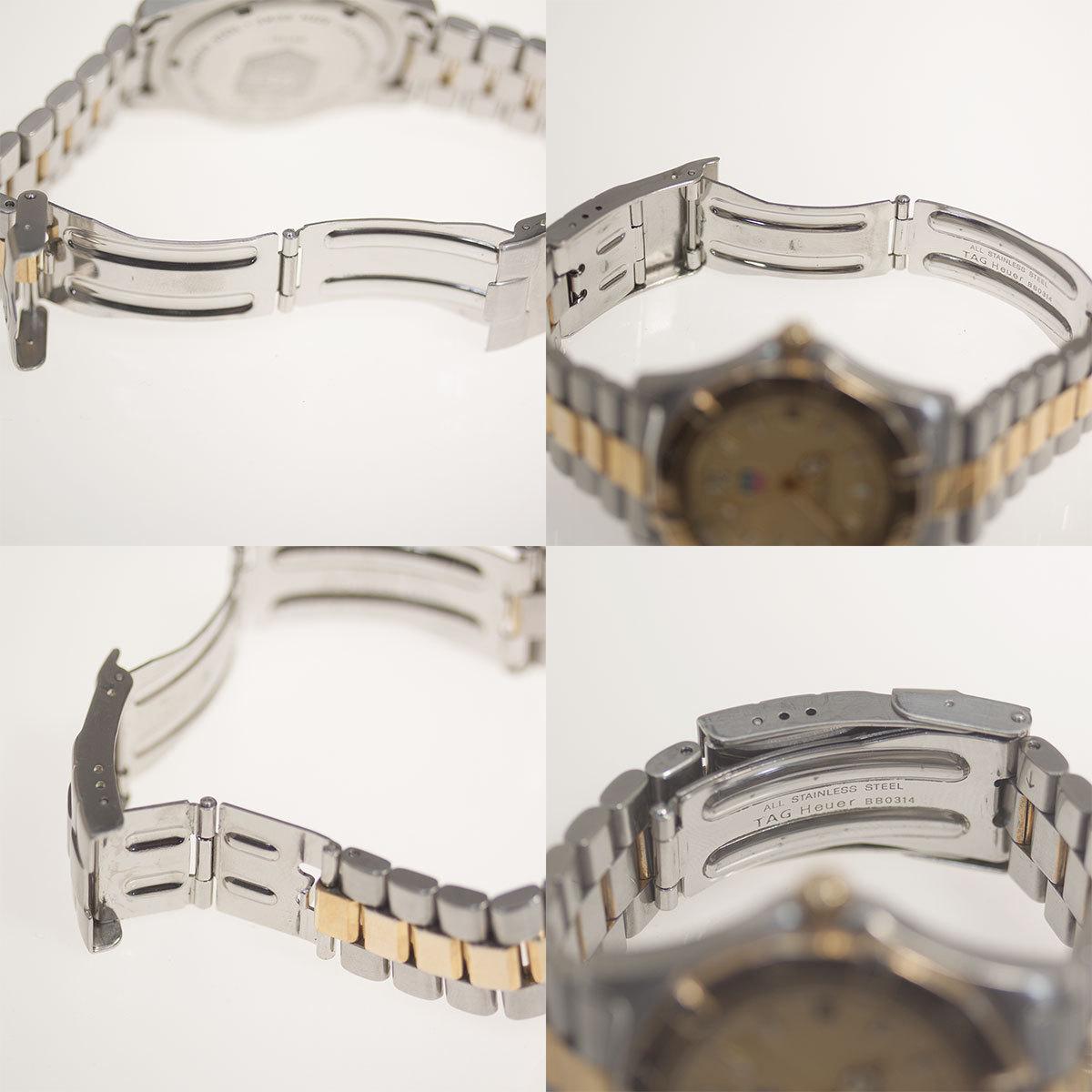 【TAG HEUER】タグホイヤー WK1121「プロフェッショナル 200m」クォーツ メンズ 腕時計【中古品】_画像10