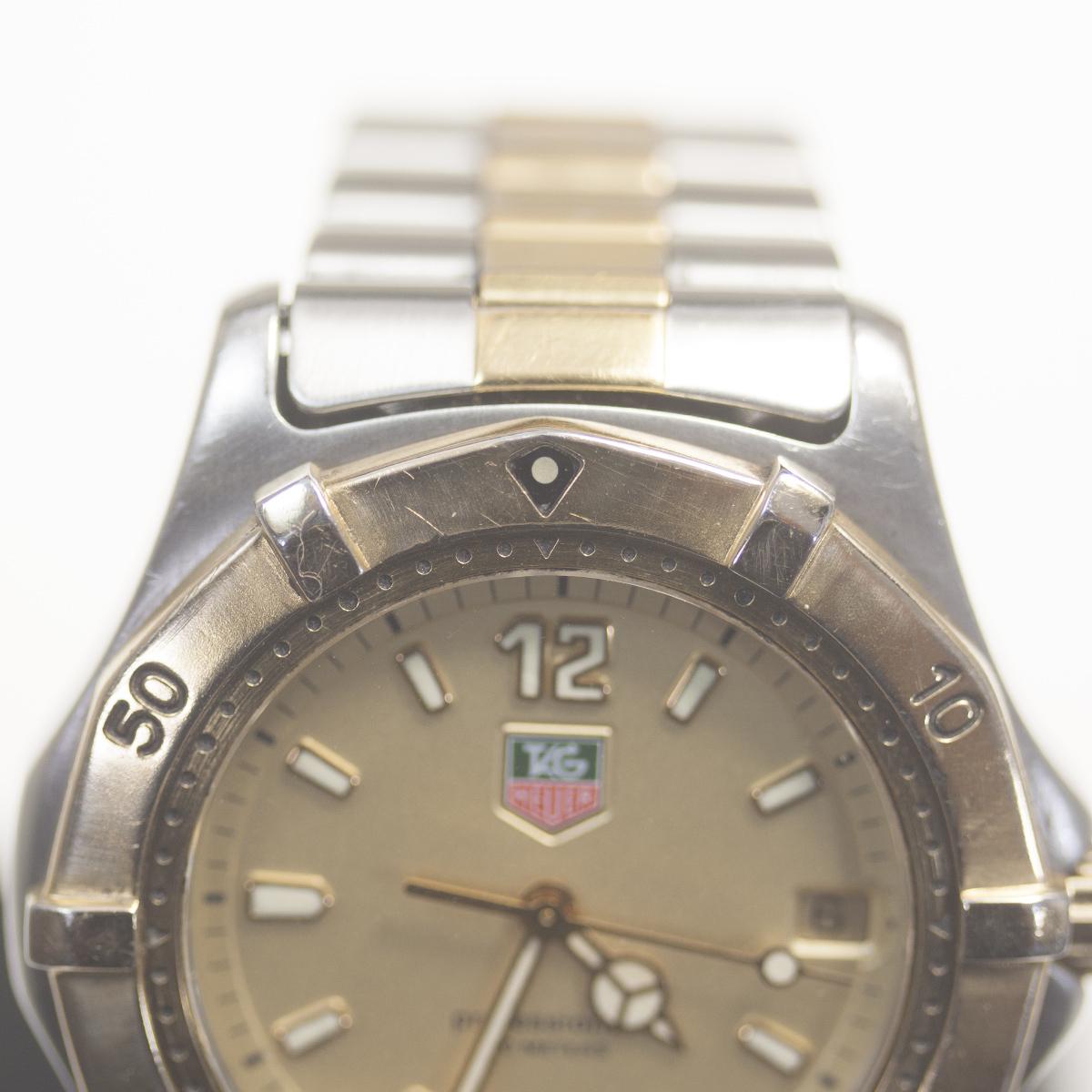 【TAG HEUER】タグホイヤー WK1121「プロフェッショナル 200m」クォーツ メンズ 腕時計【中古品】_画像5