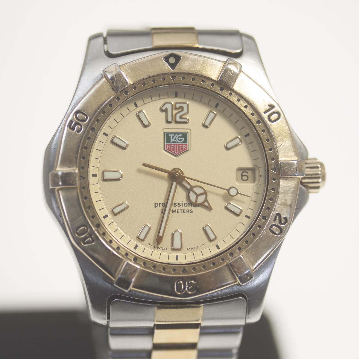 【TAG HEUER】タグホイヤー WK1121「プロフェッショナル 200m」クォーツ メンズ 腕時計【中古品】_画像1