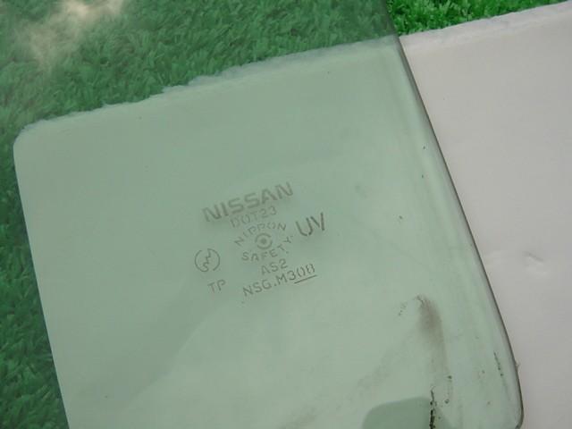 【日産 ラフェスタ B30】純正F右フロント用ドアガラス運転席 右前ウインドウ/NB30/J 0417_画像4