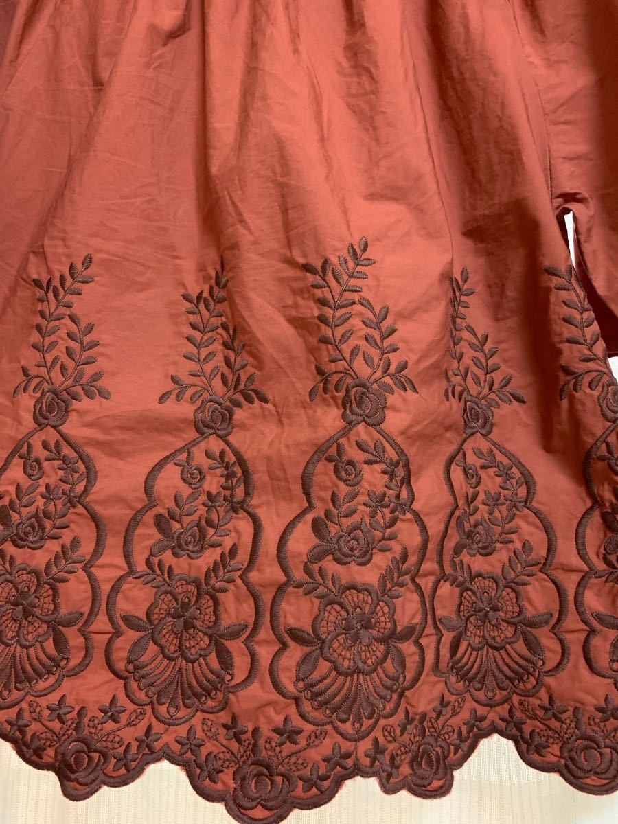 刺繍 ブラウス