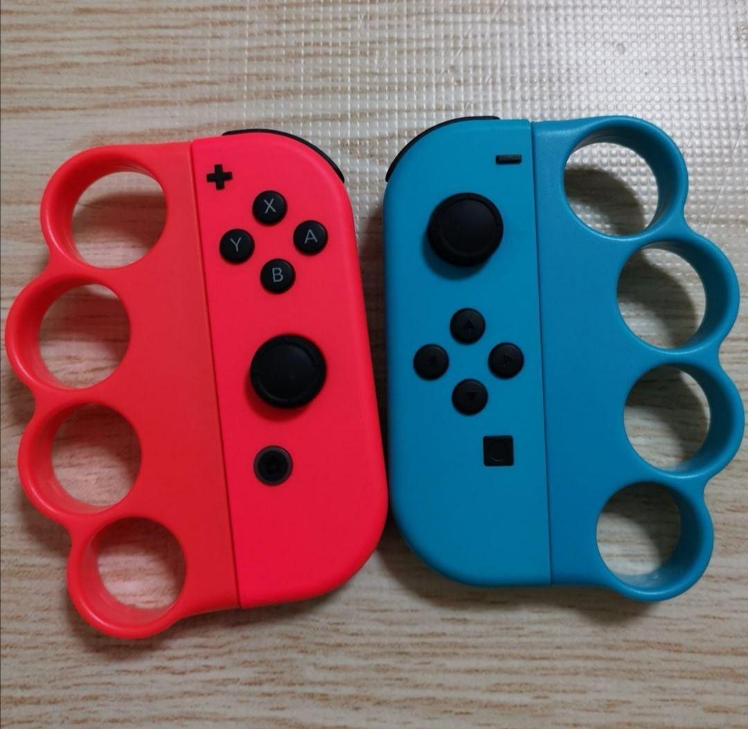 新品  Switch Joy-Conフィットボクシンググリップ 2個