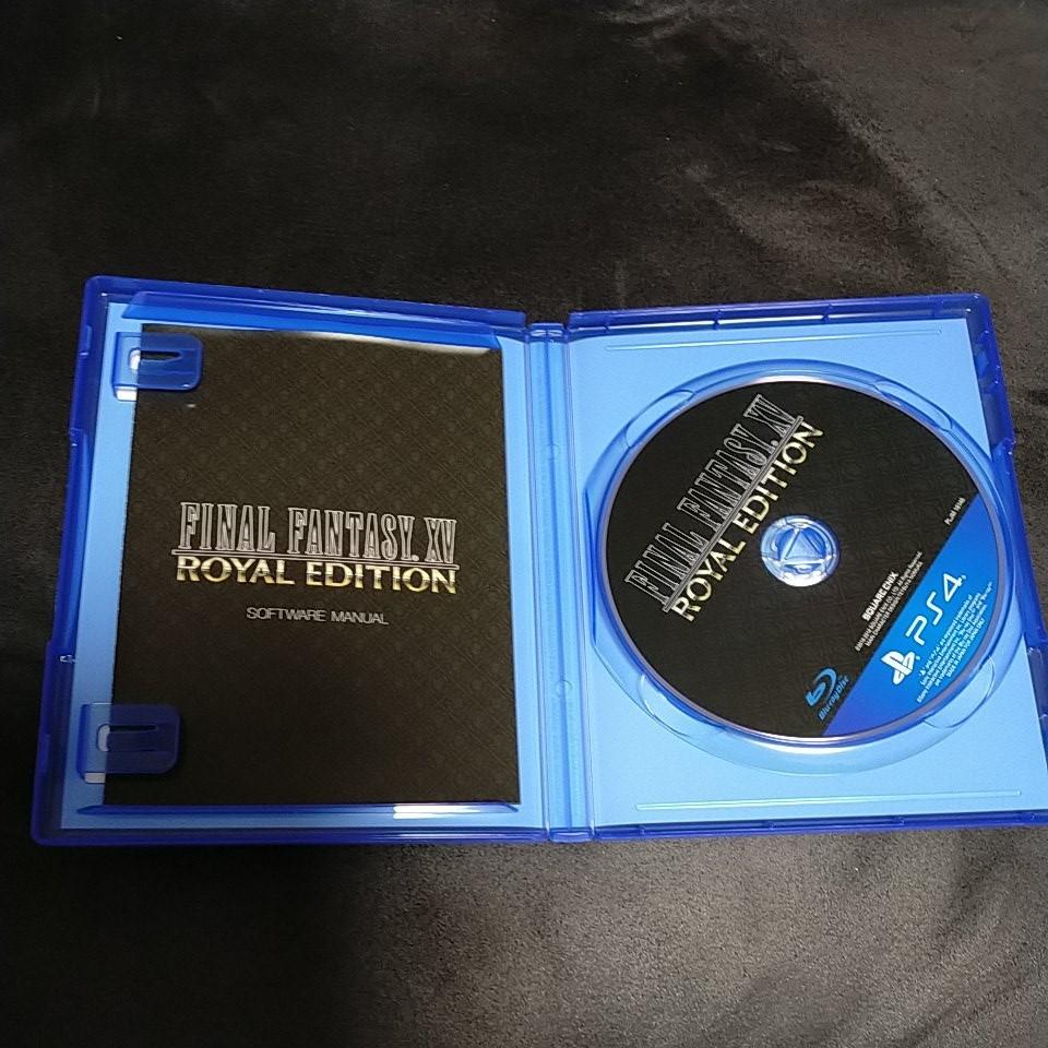 PS4 ファイナルファンタジー15 ロイヤルエディション