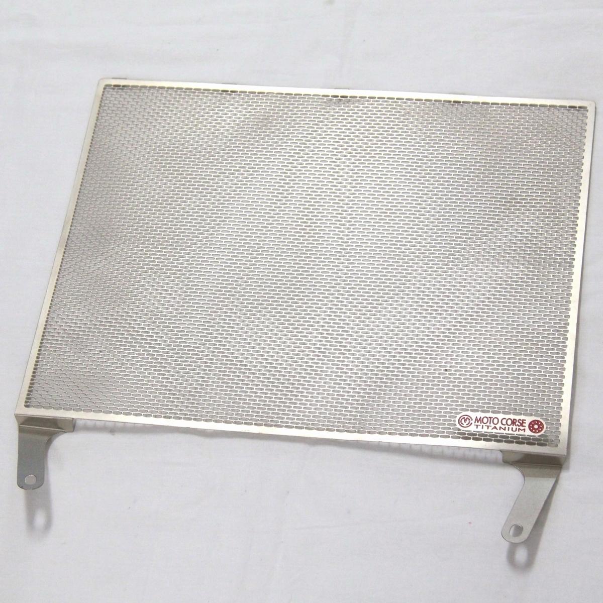 展示品 モトコルセ チタニウムプロテクションスクリーン ラジエターガード MOTO CORSE MVアグスタ YZF-R1_画像2