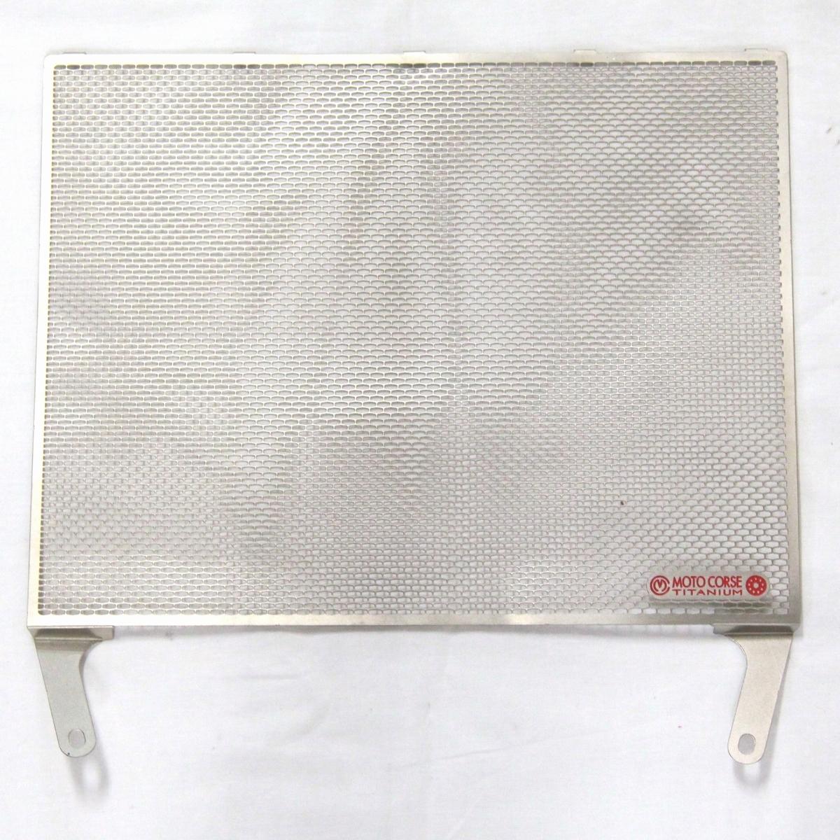 展示品 モトコルセ チタニウムプロテクションスクリーン ラジエターガード MOTO CORSE MVアグスタ YZF-R1_画像1