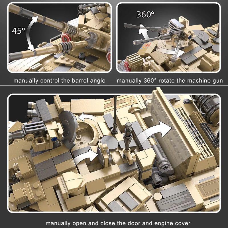 LEGO互換 T90 ラジコン_画像5
