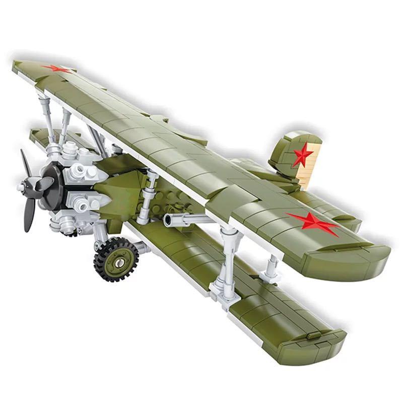 LEGO互換 ソビエトI-6 戦闘機_画像1