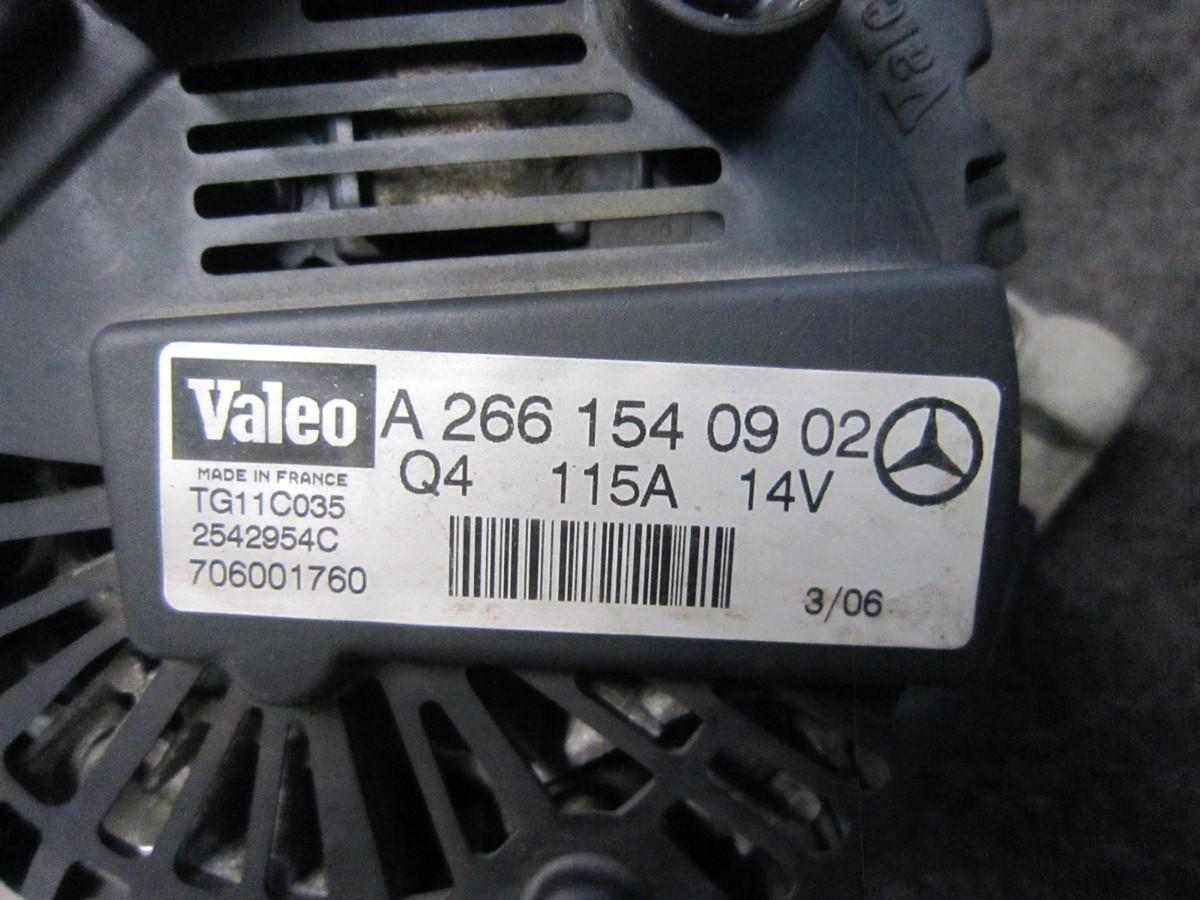 ■メルセデスベンツ W245 ダイナモ オルタネーター テストOK 73703Km カラーNo.191 266M20 CVT B200 CBA-245233■_画像4