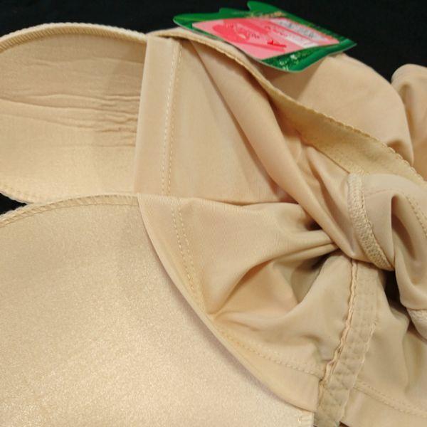 コスプレ体型補正インナー3.5点セット:黒【80C・L・XL】シリコンバスト人工乳房ポケットブラ・ウエストニッパー・ヒップパッドショーツ_画像8